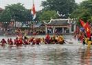 Une scène de rivalité des deux équipes sur le fleuve Pheo.