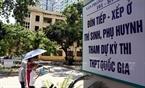 Chuẩn bị cho Kỳ thi PTTH Quốc gia 2015, Đại học Bách khoa Hà Nội đã trưng dụng khu ký túc xá của trường làm nơi ăn ở cho phụ huynh và thí sinh ở xa. Ảnh: Thông Thiện