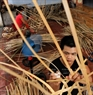 There are 200 households in Van Hoi Village that participate in making bamboo frames of horses. Parts of the horses such as legs, bodies or heads are made separately before being attached together. Photo: Cong Dat