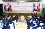 View of the opening ceremony of the ACMECS 7 and CLMV 8. Photo: VNA