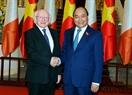 Thủ tướng Nguyễn Xuân Phúc tiếp Tổng thống Michael Daniel Higgins. Ảnh: Thống Nhất/TTXVN