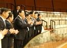 ベトナム国会議事堂を訪問する張 徳江中華人民共和国の全国人民代表大会常務委員会委員長。撮影:フオン・ホア-ベトナム通信社