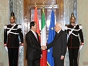 Президент Италии Серджио Маттарелла принял Президента СРВ Чан Дай Куанга. Фото: Нян Шанг - ВИА