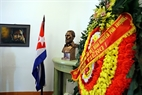 De 28 de noviembre de 2016, la Embajada de Cuba en Hanoi ha organizado solemnemente la ceremonia para rendir tributo a Fidel Castro Ruz. Foto: Tran Thanh Giang – VNP