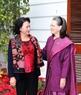 La présidente de l'A.N Nguyên Thi Kim Ngân lors de la rencontre avec la présidente du Parti du Congrès, Sonia Gandhi. Photo : Trong Duc/AVI