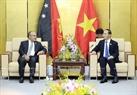 在2017年APEC峰会周期间,11月9日下午,国家主席陈大光会见巴布亚新几内亚彼得・欧尼尔。图/越通社记者