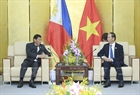Within the framework of APEC Economic Leaders' Week, State President Tran Dai Quang had a bilateral meeting with President of the Philippines Rodrigo Duterte in the afternoon of November 9, 2017 in Da Nang. Photo: VNA