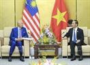 Within the framework of APEC Economic Leaders' Week, State President Tran Dai Quang had a bilateral meeting with Malaysian President Najib Tun Razak in the afternoon of November 9, 2017 in Da Nang. Photo: VNA