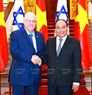 Prime Minister Nguyen Xuan Phuc meets with Israeli President Reuven Rivlin at the Government's Headquarters. Photo: Thong Nhat/VNA