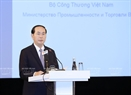 Also on June 30,  President Tran Dai Quang gave a speech at the Vietnam - Russia Economic Forum. Photo: Nhan Sang / VNA