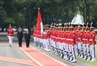 Indonesian President Joko Widodo and Party General Secretary Nguyen Phu Trong review the guard of honour. Photo: Tri Dung/VNA