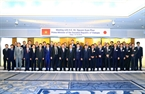 В тот же день премьер-министр Нгуен Суан Фук встретился с некоторыми японскими корпорациями. На фото: премьер-министр Нгуен Суан Фук и делегаты. Фото: Тхонг Нят/ВИА