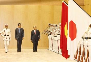 Toàn cảnh chuyến thăm Nhật Bản của Thủ tướng Nguyễn Xuân Phúc
