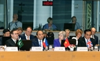 Премьер-министр Нгуен Суан Фук и главы делегаций стран на церемонии открытия 12-го саммита «Азия – Европа» (АСЕМ). Фото: Тхонг Нят/ВИА