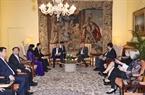 Во второй половине 17 октября 2018 года в Брюсселе премьер-министр Нгуен Суан Фук встретился с председателем нижней палаты парламента Бельгии Зигфридом Браке. Фото: Тхонг Нят/ВИА