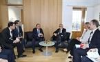Tiếp tục chương trình tham dự Hội nghị ASEM 12, ngày 19/10/2018, Thủ tướng Nguyễn Xuân Phúc hội đàm với Chủ tịch Ủy ban châu Âu Jean-Claude Juncker. Ảnh: Thống Nhất/TTXVN
