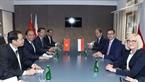 Sáng 19/10/2018, Thủ tướng Nguyễn Xuân Phúc gặp song phương Thủ tướng Cộng hòa Ba Lan Mateusz Jakub Morawiecki bên lề Hội nghị ASEM 12. Ảnh: Thống Nhất/TTXVN