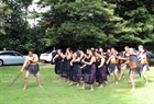 The New Zealand's traditional ceremony of Maori to welcome Prime Minister Nguyen Xuan Phuc. Photo: Thong Nhat/VNA