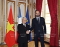 On March 26, the Vietnamese Party leader met with French Prime Minister  Édouard Phillippe. Photo: Tri Dung / VNA