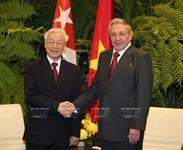 阮富仲总书记对古巴共和国进行国事访问