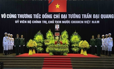 State funeral for President Tran Dai Quang