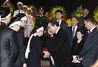Thủ tướng Hàn Quốc Lee Nak-yeon viếng Chủ tịch nước Trần Đại Quang và chia buồn cùng tang quyến Chủ tịch. Ảnh: TTXVN.