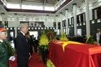 Đoàn nước Cộng hòa Singapore, do Phó Thủ tướng Tiêu Chí Hiền làm Trưởng đoàn, viếng Chủ tịch nước Trần Đại Quang. Ảnh: Nhan Sáng – TTXVN