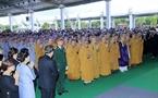 A requiem held for President Tran Dai Quang in Ninh Binh. Photo: VNA