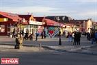 Город Кызыл- столица Республики Тыва (Российская Федерация). Фото: Чан Хиеу