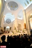 A ceremony conducted inside the sanctuary of Cua Bac Church. Photo: Thanh Giang/VNP