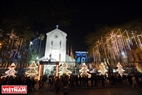 Ham Long Church is brilliantly decorated. Photo: Thanh Giang/VNP