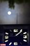 Hình ảnh siêu trăng lớn nhất thế kỷ đi qua tháp đồng hồ Bưu điện Hà Nội. Ảnh: Thanh Giang