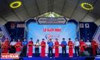"""Lễ cắt băng khai mạc liên hoan """"Tuổi trẻ sáng tạo"""" Tp. Hồ Chí Minh lần VII – Năm 2016."""