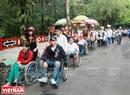 Hơn 7000 người khuyết tật đến từ 16 tỉnh, thành trong cả nước tham gia Ngày hội. Ảnh: Thông Hải