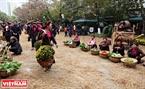 Điểm nhấn của Lễ hội hoa xuân là tái hiện một không gian văn hóa làng quê Việt giữa lòng đô thị.