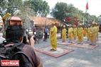 Lễ tế ở đền thờ công chúa Mỵ Châu. Ảnh: Thanh Hòa/Báo ảnh Việt Nam