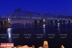 Cây cầu đường sắt của tuyến đường xuyên Siberia nổi tiếng. Ảnh: Trần Hiếu