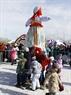 Lễ hội Maslenitsa có truyền thống lâu đời ở Nga. Ảnh: Trần Hiếu