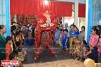 Múa lân sư tại Lăng Ông Nam Hải xã Bình Thắng, huyện Bình Đại, tỉnh Bến Tre.