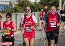 2017年のホーチミン市のマラソンコンテストは42,195km, 21,1km と10kmである 3距離がある。