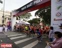 Le  marathon a débuté au zoo Thao Câm Viên et  finit au  nouveau centre urbain Thu Thiêm.