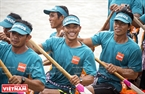 The three-day race is among dozens of cultural performances and traditional games held during the festival, one of the three largest Khmer festivals in Soc Trang.