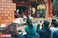Un marché de Noël allemand se tient au coeur de Hanoi
