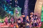 Các hoạt động lễ hội truyền thống được phục dựng trong Đêm hội như: Lễ hội đầu mùa, lễ hội bỏ mả, lễ hội cầu mùa, lễ hội cúng bến nước…của dân tộc bản địa đã cuốn hút du khách.