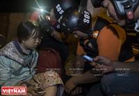 Equipe SOS Sai Gon, bienfaiteur pour les accidentés de route