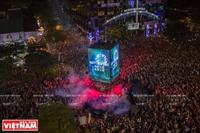 Во Вьетнаме отмечают Новый 2018 год