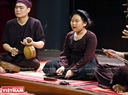 Many young xam singers join the event, including eleven-year-old Ha Linh, who has studied xam singing for four years.