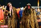 Độc đáo lễ hội hóa trang của đồng bào các dân tộc ở Tây Nguyên. Ảnh: Thanh Hòa
