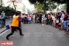 Người dân Thủ đô được tham gia trò chơi Kendama của đất nước Nhật Bản.