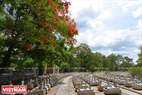 Nghĩa trang Liệt sĩ Quốc gia Trường Sơn, nơi yên nghỉ của hơn 1 vạn người con ưu tú của dân tộc đã ngã xuống vì nền độc lập của nước nhà. Ảnh: Thanh Hoà
